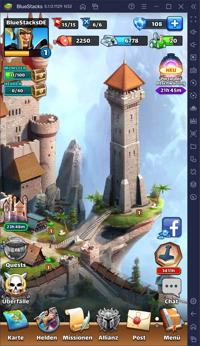 Empires & Puzzles: Tipps und Tricks für Anfänger