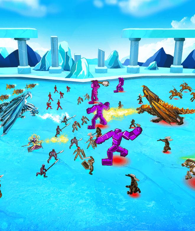 Играй Epic Battle Simulator На ПК 5