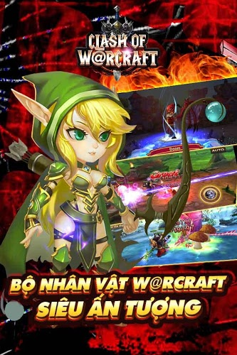 Chơi Clash Of Warcraft on PC 12