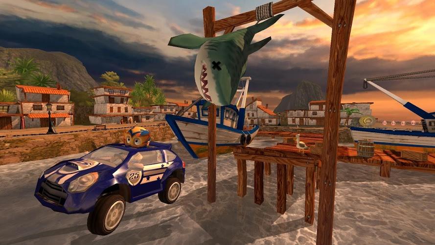 Играй Beach Buggy Racing На ПК 7