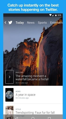 Spielen Twitter Android App on PC 7