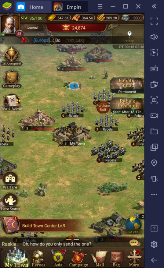 How To Play Empire: Rising Civilization on PC With BlueStacks