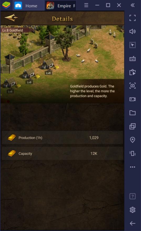 Economic Advancement in Empire: Rising Civilization