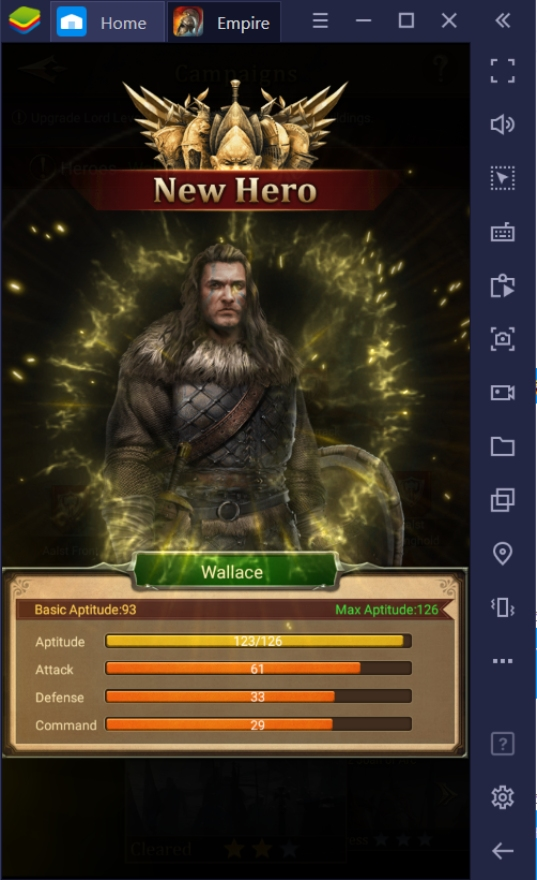 Empire: Rising Civilization – Upgrading Your Heroes!