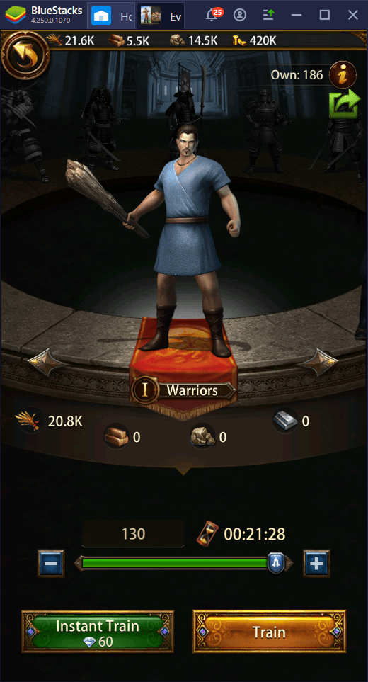 Be an Emperor – How to Play Evony: The King's Return on PC with BlueStacks