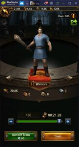 Sei ein Imperator – Wie du Evony: Die Rückkehr des Königs auf dem PC mit BlueStacks spielst
