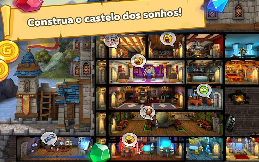 Jogue Hustle Castle- Fantasy Kingdom para PC 4