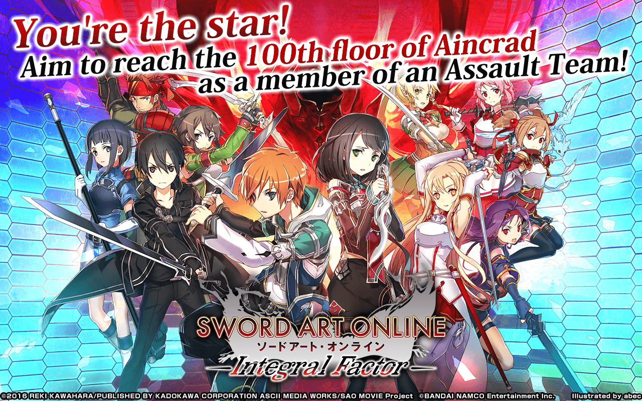 Download Sword Art Online Integral Factor on PC with BlueStacks