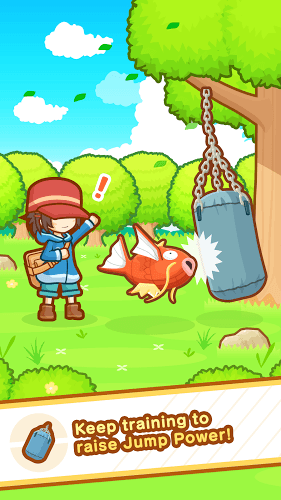 Play Pokémon: Magikarp Jump on PC 3