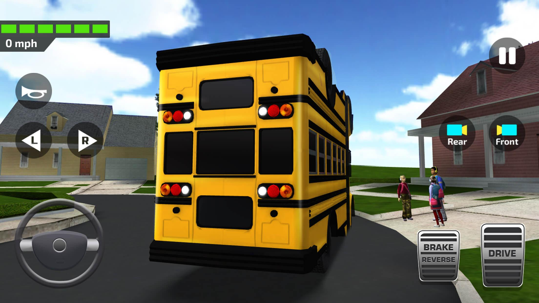 Download Super High School Bus Driving Simulator 3D - 2018 On Pc With Bluestacks-8284