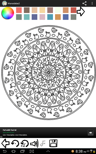 Play Mandala Coloring Pages on PC 18