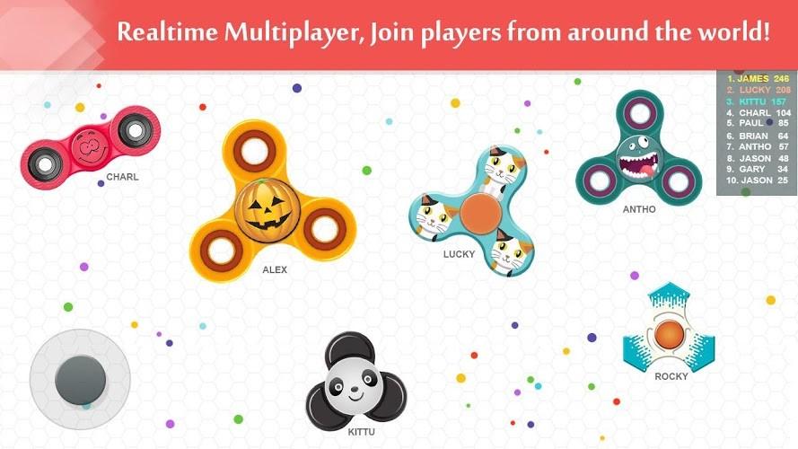 Play Fidget Spinner .io on PC 6