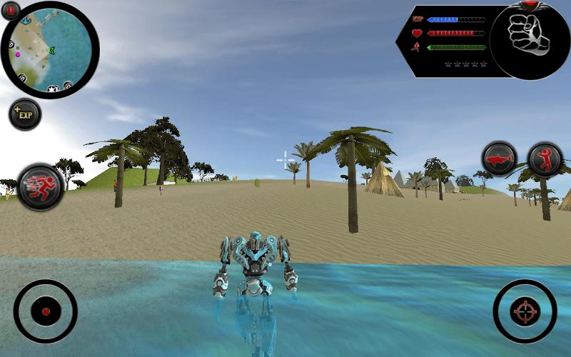 즐겨보세요 Robot Shark on PC 8