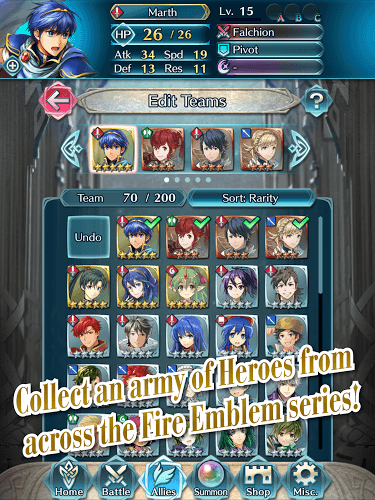 Play Fire Emblem- Heroes on PC 20