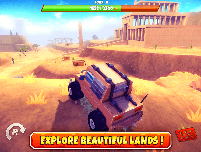 Играй Zombie Offroad Safari На ПК 3