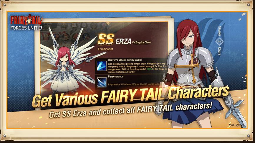 Bergabunglah Dengan Petualangan Ajaib ala Anime dari Garena di FAIRY TAIL: Forces Unite!