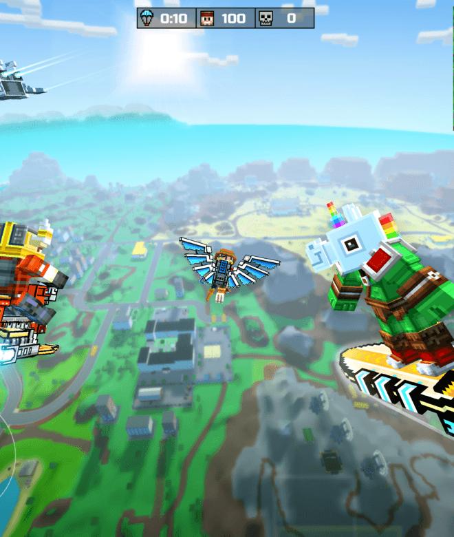 Pixel Gun 3D: Survival shooter & Battle Royale İndirin ve PC'de Oynayın 8