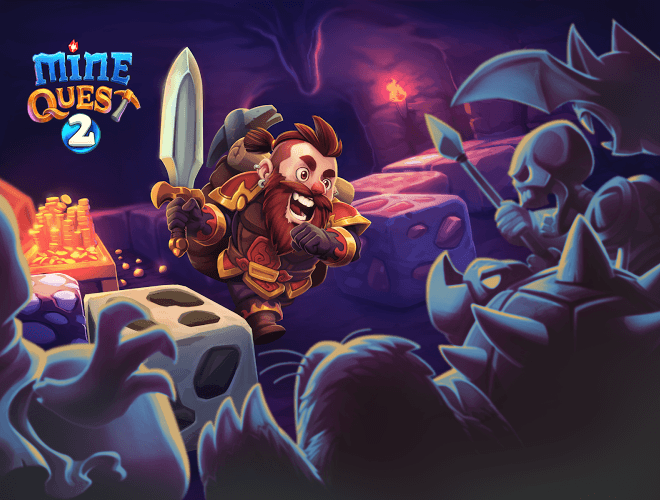 Играй Mine Quest 2 На ПК 17