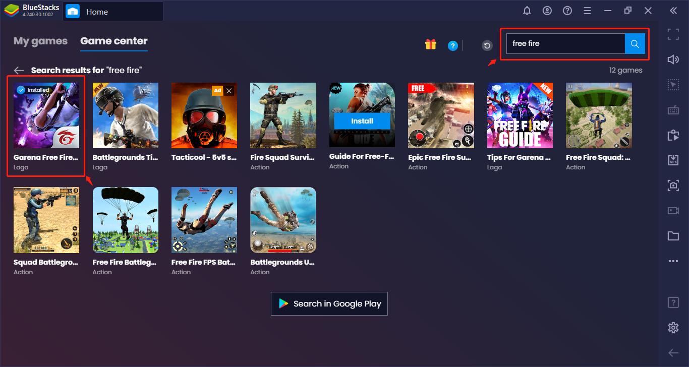 Garena Free Fire di PC – Memenangkan Semua Pertandingan dengan BlueStacks