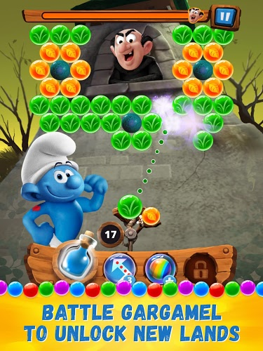 Play Smurfs Bubble Story on PC 14