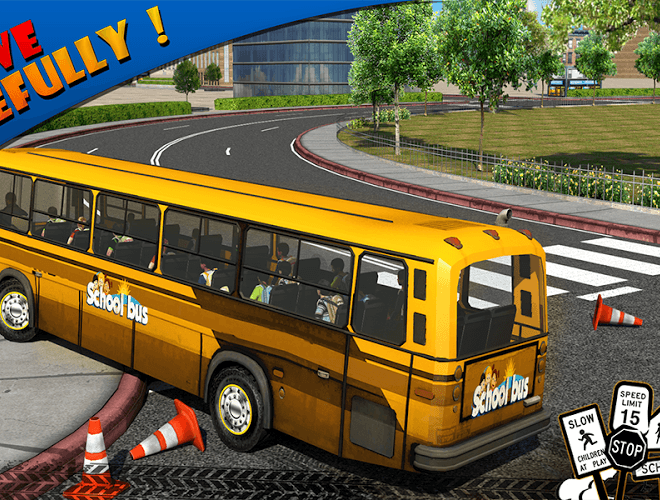 Play School bus Driver 3D on PC 14