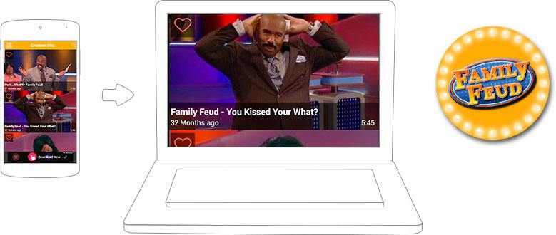 how to play family feud app with friends