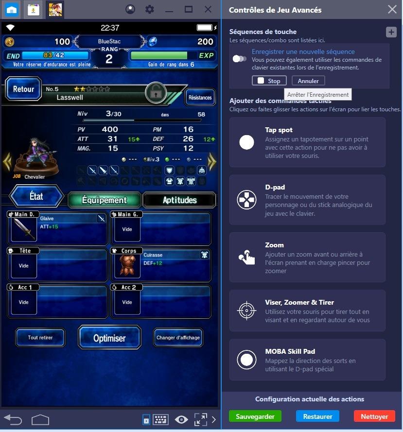 Redécouvrez Final Fantasy Brave Exvius grâce à la nouvelle fonctionnalité de BlueStacks, le Combo Key