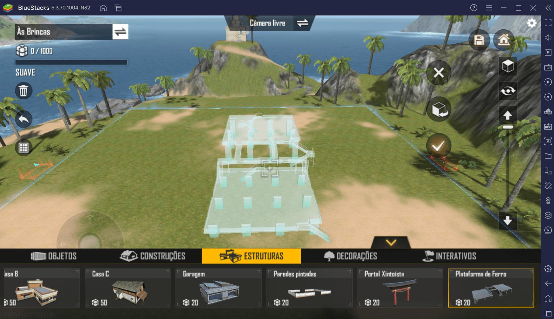 Como criar seu próprio mapa em Garena Free Fire MAX para jogar com os amigos