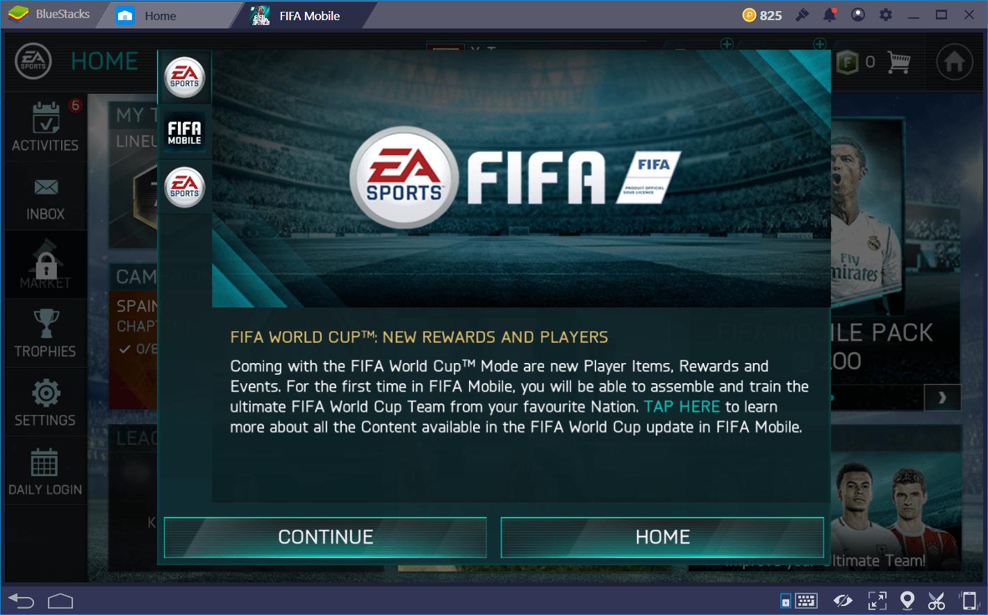 FIFA Mobile: 2018 FIFA 월드컵 비기너 가이드
