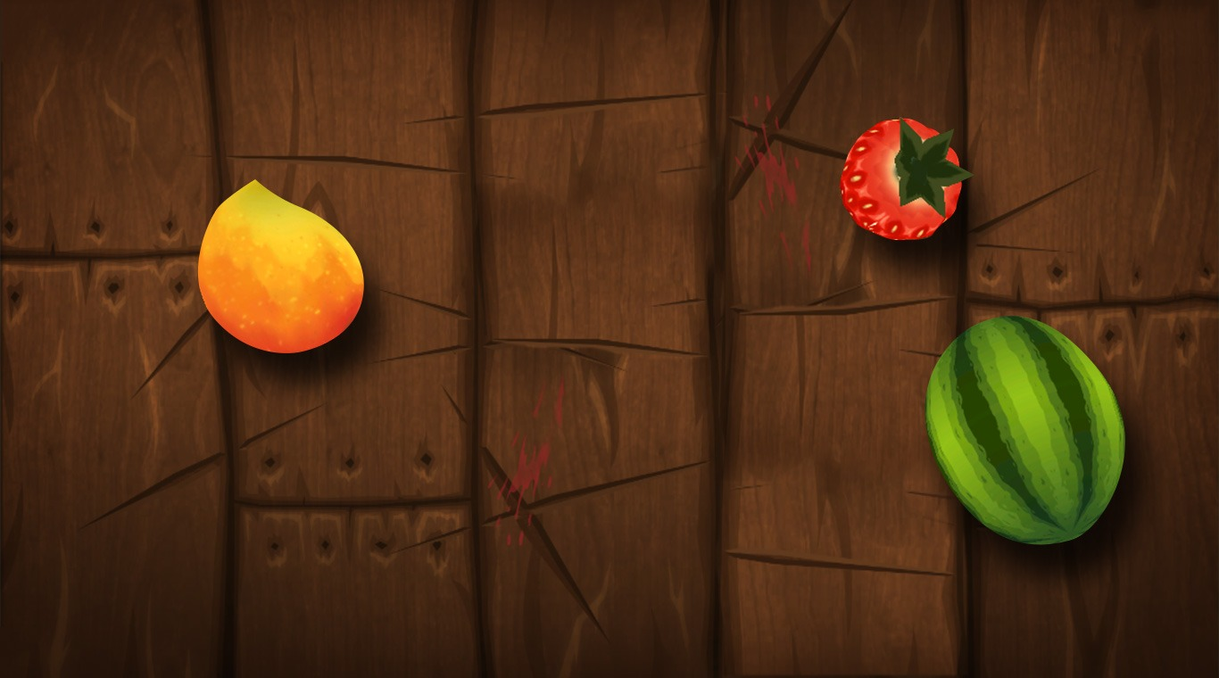 Fruit Ninja Kinect 2 Xbox One gameplay Quickplay Arcade