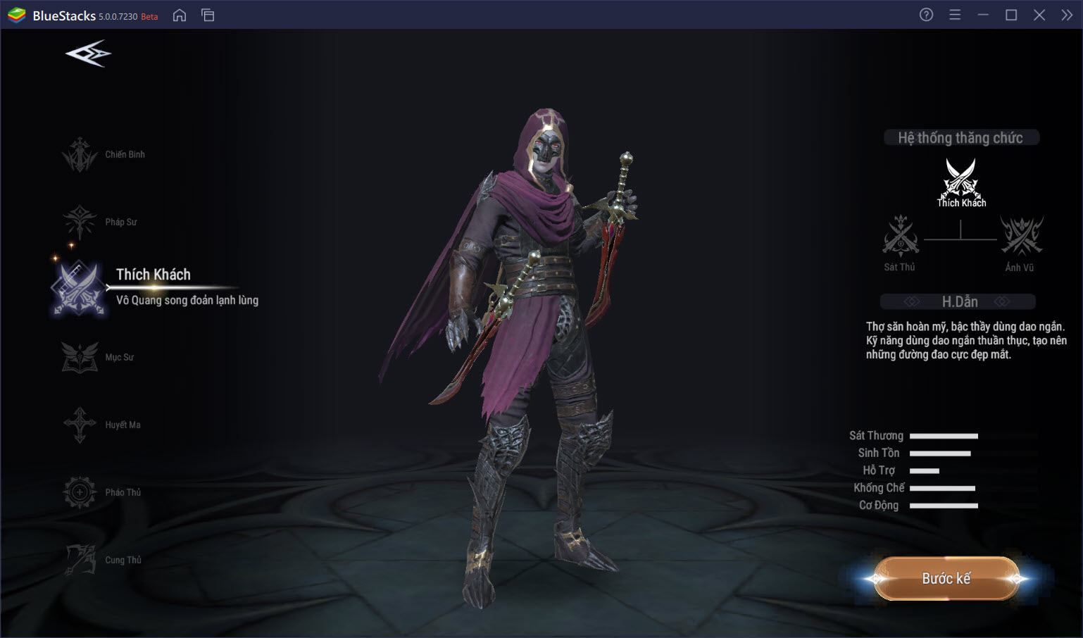 Forsaken World: Thần Ma Đại Lục – Tìm hiểu hệ thống lớp nhân vật đồ sộ