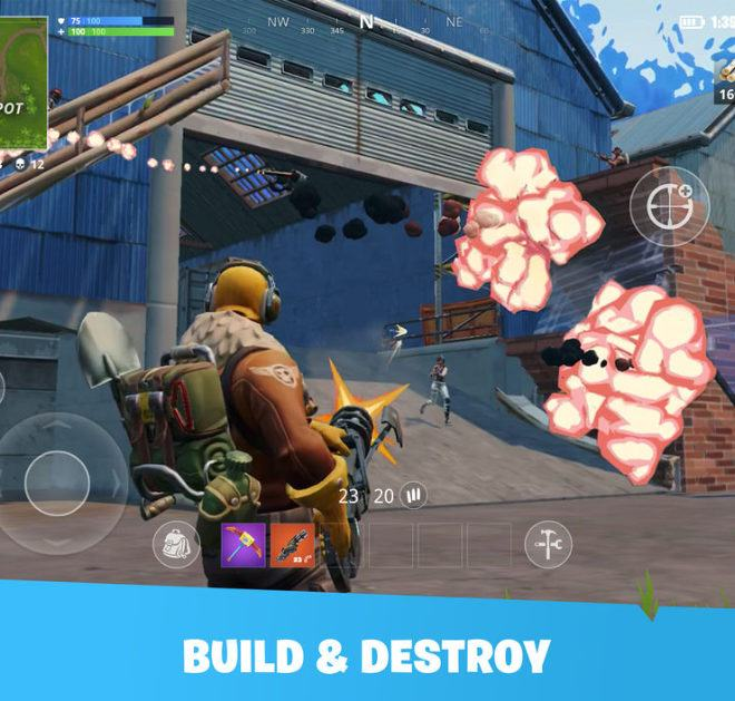 Jogue Fortnite Mobile para PC 4