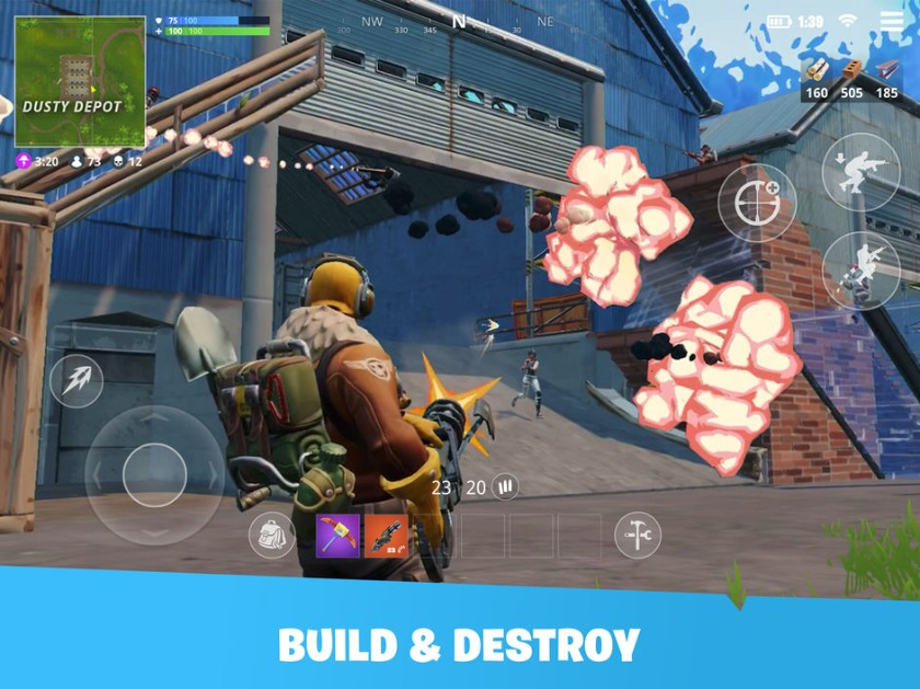 Download Fortnite Mobile on PC with BlueStacks