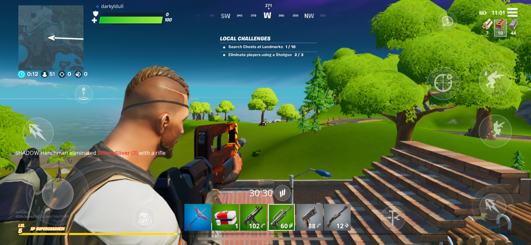 Fortnite Mobile - A Guide on the Different Weapon Types