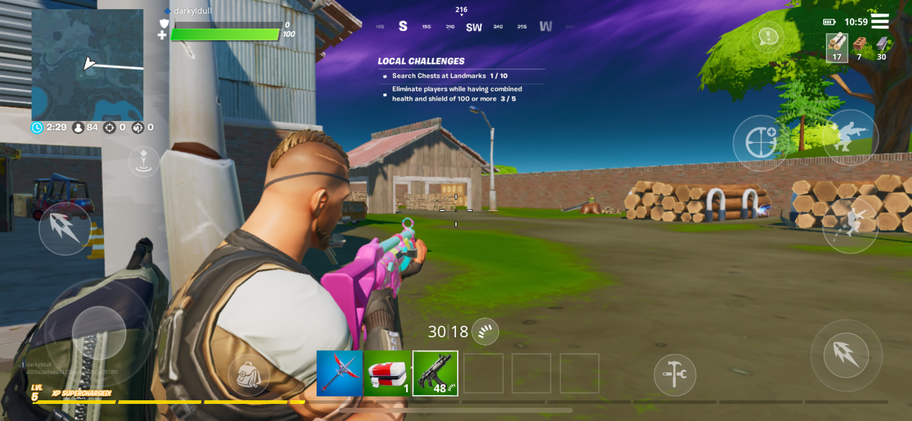 Fortnite Mobile – A Guide on the Different Weapon Types