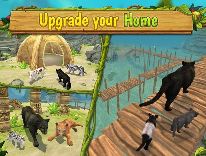 Play Panther Family Sim on PC 5