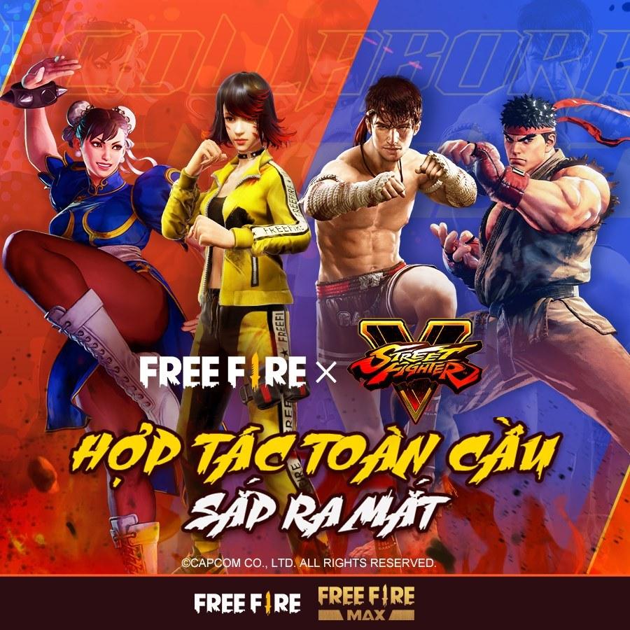 Garena Free Fire công bố hợp tác cùng Street Fighter