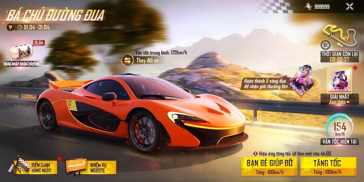 Garena Free Fire ra mắt sự kiện hợp tác với hãng siêu xe McLaren