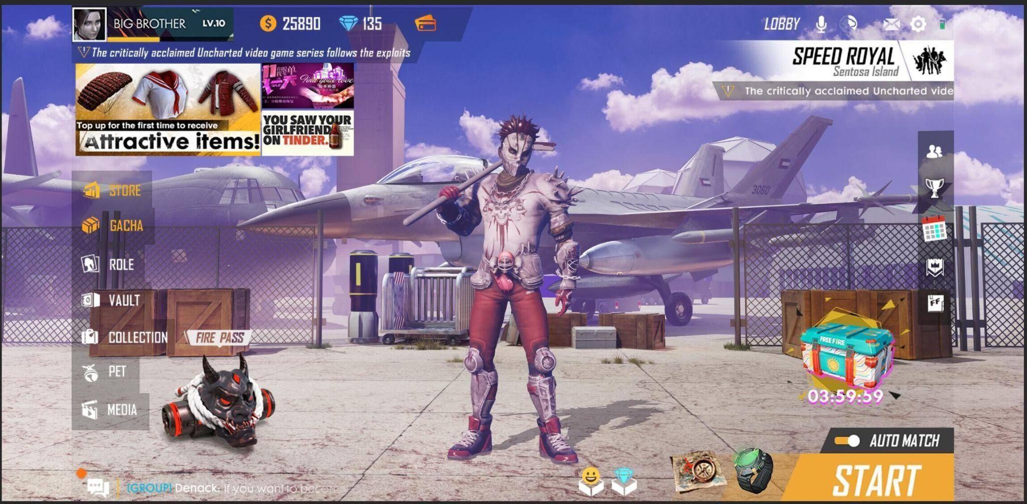 Garena Free Fire bắt đầu màn hợp tác toàn cầu với Street Fighter V