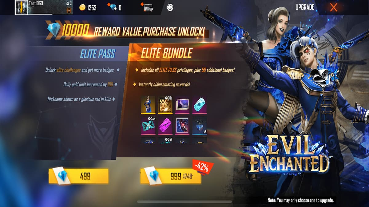 Free Fire Season 37 Elite Pass: Duration, Rewards, How to Buy, And More