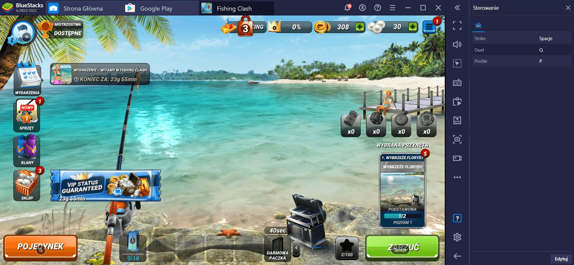 Fishing Clash: Jak grać na PC z BlueStacks