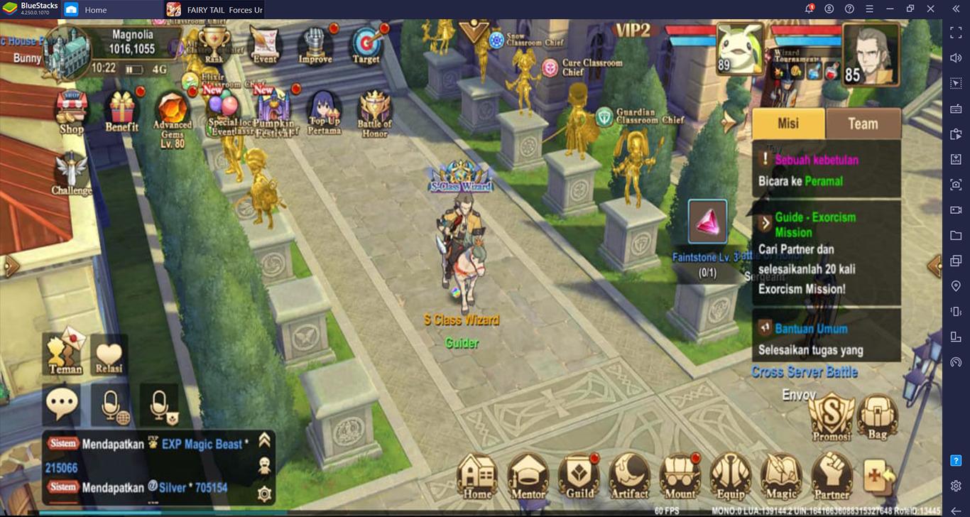 FAIRY TAIL: Forces Unite! Cara Menjadi Kuat di Game Anime Seru Ini