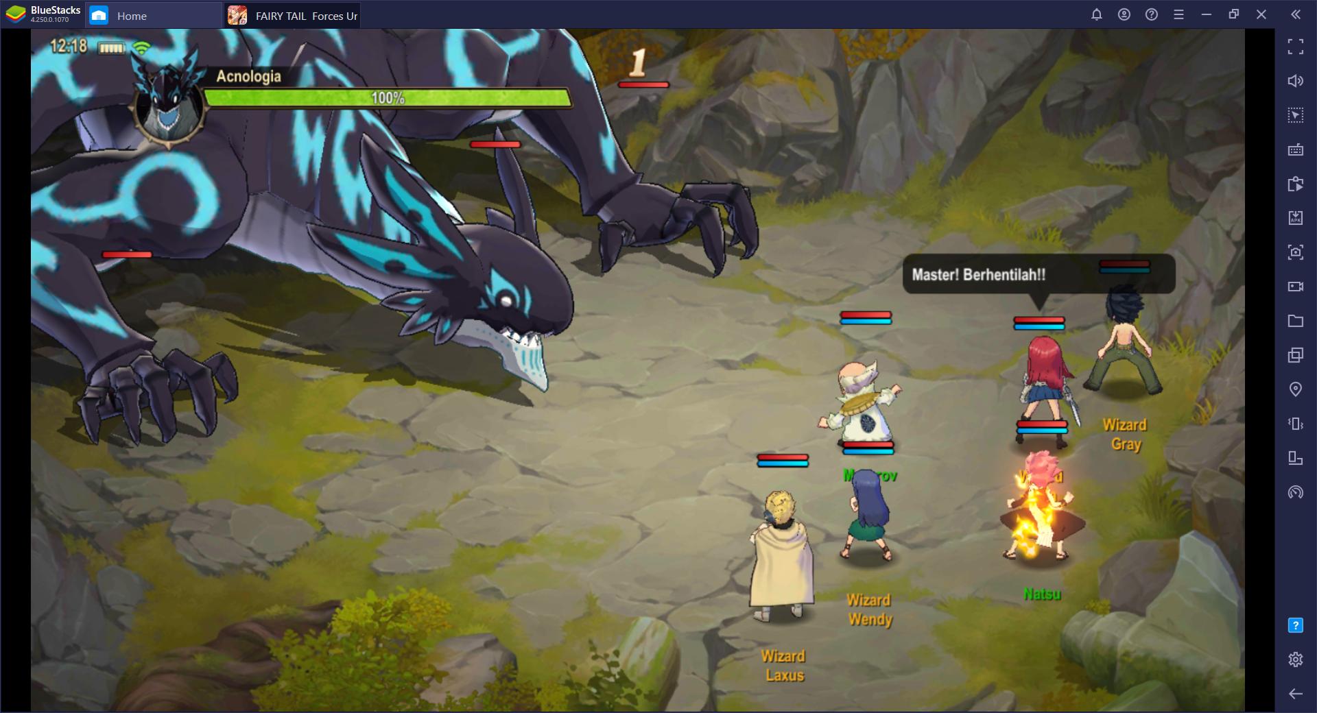 FAIRY TAIL: Forces Unite! – Mainkan Game Anime Mobile Ini di BlueStacks