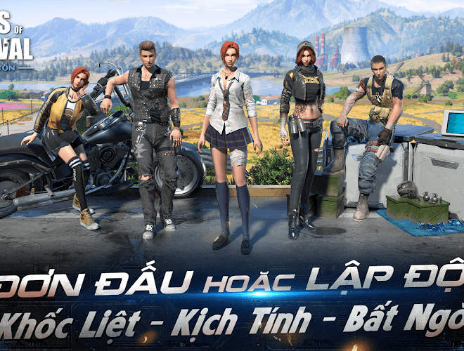 Chơi Rules of Survival on PC 4