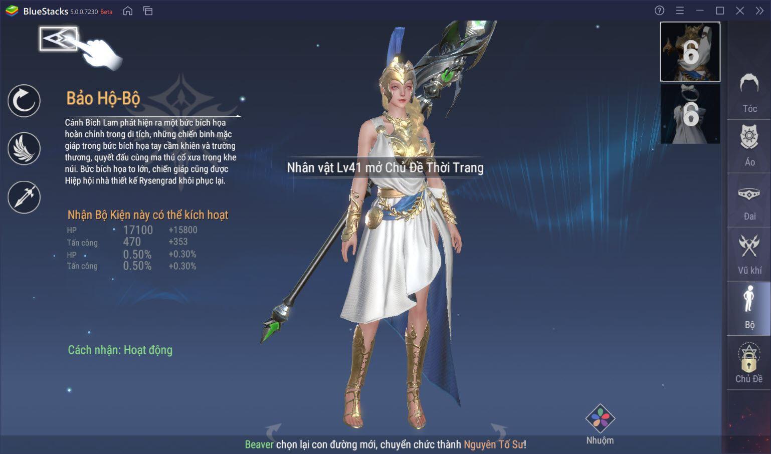 """Thưởng thức game """"bom tấn"""" Forsaken World: Thần Ma Đại Lục trên PC cùng BlueStacks"""