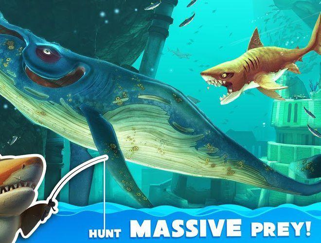 Chơi Hungry Shark World on pc 12