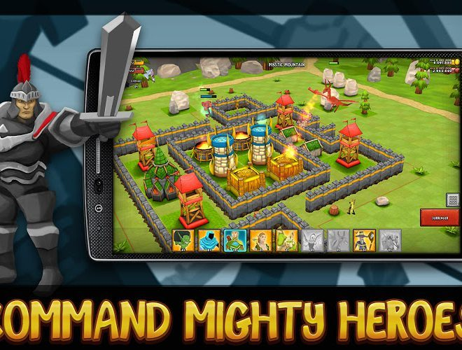 Играй Greed for Glory: War Strategy На ПК 5