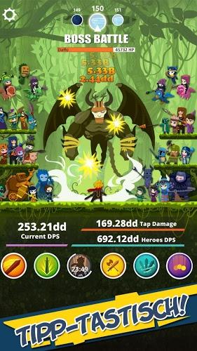 Spiele Tap Titans auf PC 4