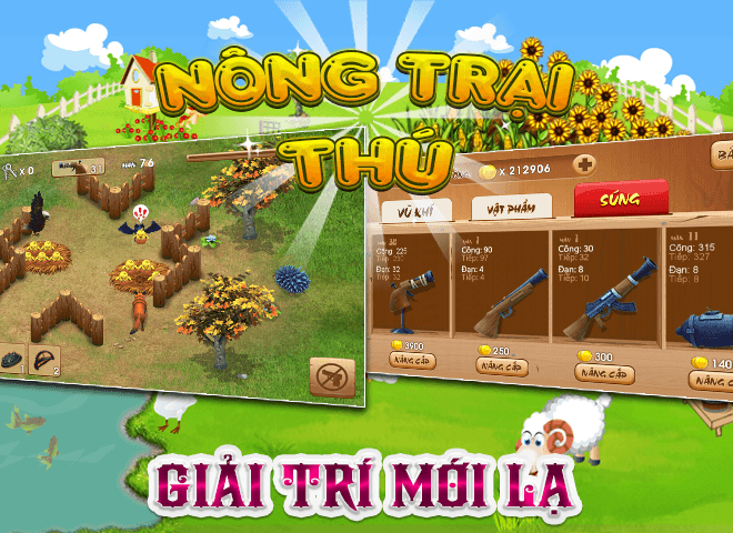 Chơi Nong Trai Thu – Dau Truong Thu on PC 18