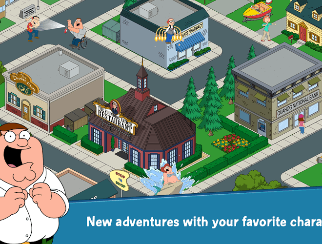 إلعب Family Guy: The Quest for Stuff on PC 10